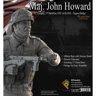 Maj. John Howard BUST