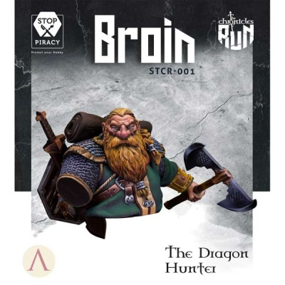 Broin - The Dragon Hunter BUST