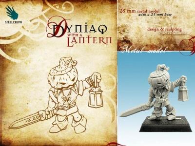 Dyniaq with a Lantern