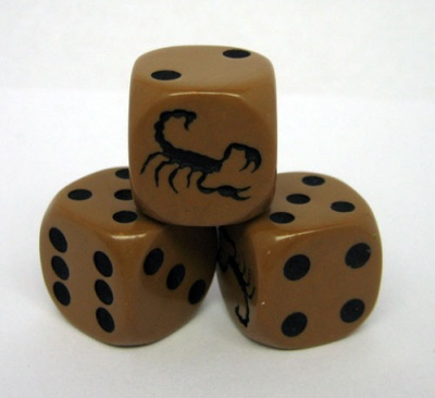 Scorpion Dice (1)