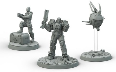 Brotherhood of Steel: Knight-Captain Cade and Paladin Danse