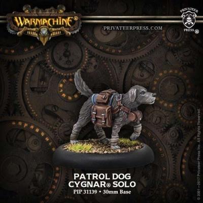 Patrol Dog - Cygnar Solo