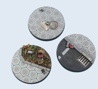 Urban Rubble, Round 50mm Bases (2)