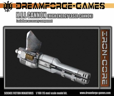 1/100 (15mm) HEL Cannon