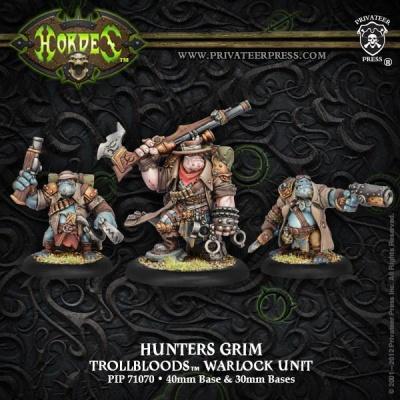 Trollblood Hunters Grim Epic Warlock Unit (3)