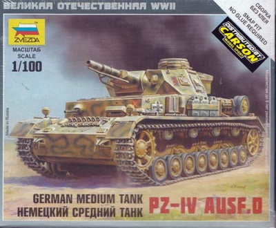 1:100 Wargame AddOn: Pz-IV D