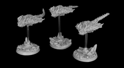 Daemonic Kingdom Skybeast Unit (3 models)