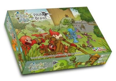 Color Warz Game Box