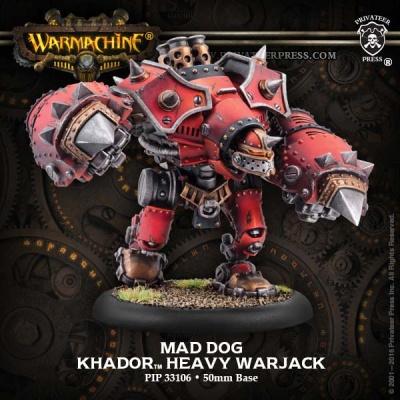 Khador Heavy Warjack Berserker / Mad Dog / Rager