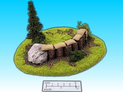 Geländestück Stellung