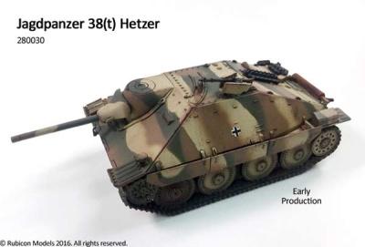 Jagdpanzer 38T Hetzer (1/56)