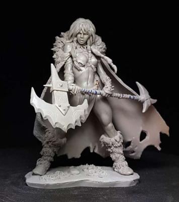 Tyra, Barbarian Girl
