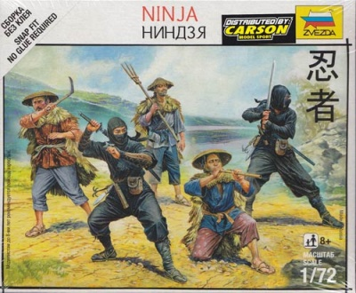 1:72 Samurai: Ninjas (5)