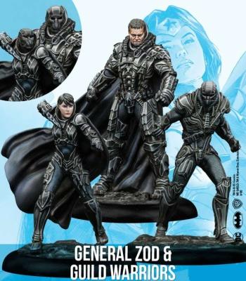 General Zod & Guild Warrioirs