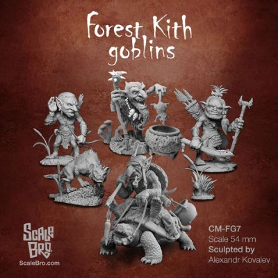 Forest Kith Goblins: All Miniatures (5)