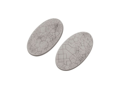 Mosaic Bases, Oval 90mm (2)