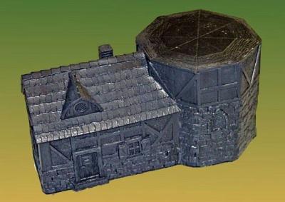 Gebäude für Windmühle