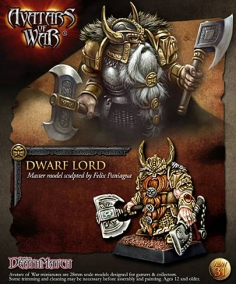 Dwarf Thane with Paired Weapons
