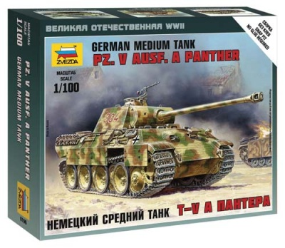 1:100 Wargame AddOn: German tank Panther