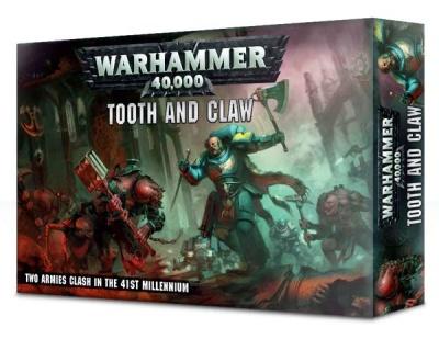 Warhammer 40K: Mit Zähnen und Klauen