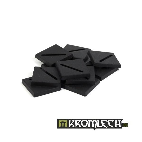 Square 25mm Slotta Bases (10)
