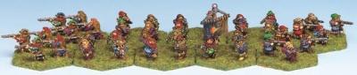 Arquebusiers (40)