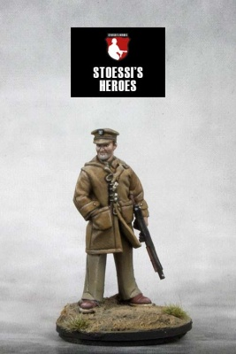 "British Army Colonel (SAS) - David Stirling ""Phantom Major"""