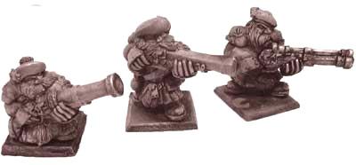 Zwergen Musketen III
