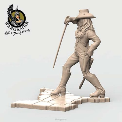 Dixie from the Confrederate Cavalry (28mm)