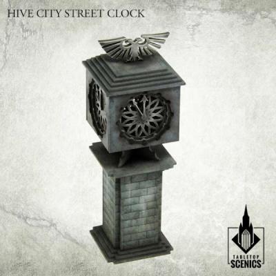 Hive City Street Clock