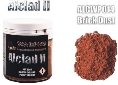 Alclad II PIGMENT: Brick Dust