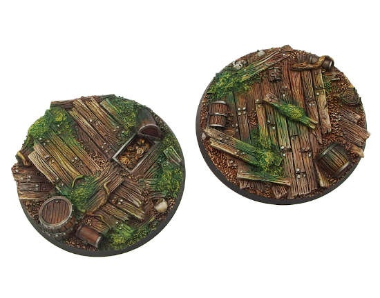 Wood Bases, Round 60mm (1)