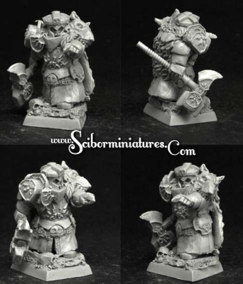 28mm/30mm Dwarf Lord Krumram (1)