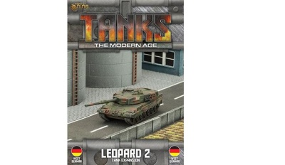 German Leopard 2 Tank Expansion