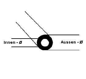 Rohr 3,2mm (39cm)