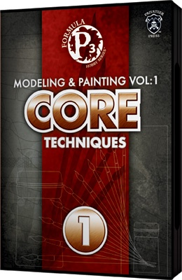 P3: Modeling and Painting Volume 1 DVD