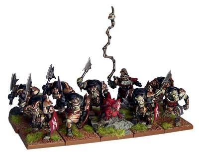 Abyssal Dwarf Slave Orcs (10)