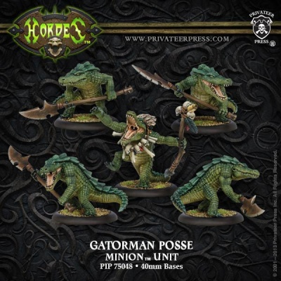 Minion Gatorman Posse (5)
