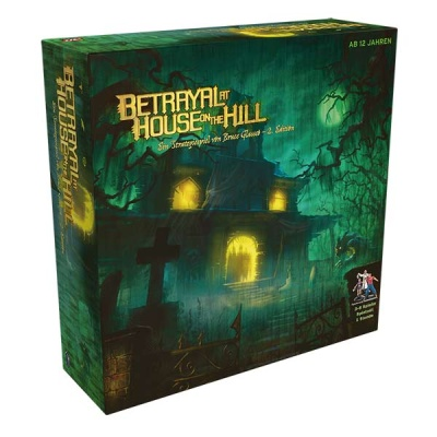 Betrayal at House on the Hill - Deutsch -