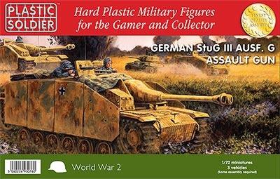 1/72: Stug III G Assault Gun (3)