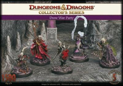 D&D: Drow War Party(5)