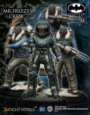 Mr. Freeze Crew (4) (OOP)