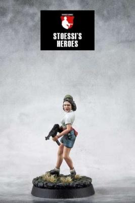 French Resistance / SOE - Simone Segouin aka Nicole Minet