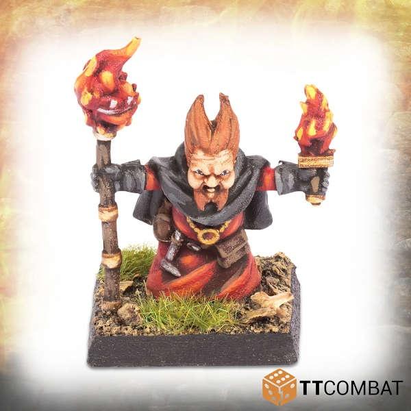 Halfling Fire Wizard