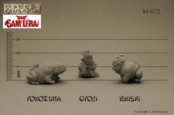 SAMoUseRAI: Gyoji, Rikishi, Yokozun (3)
