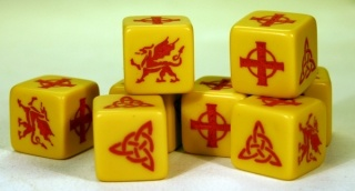 SAGA Dice - Welsh (8)