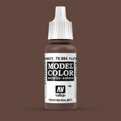 Model Color 140 Terrabraun Dunkel (Flat Brown) (984)