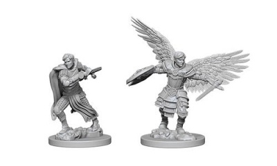 D&D: Male Aasimar Fighters (2)