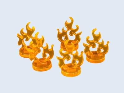 Micro Fire Markers (6) (OOP)