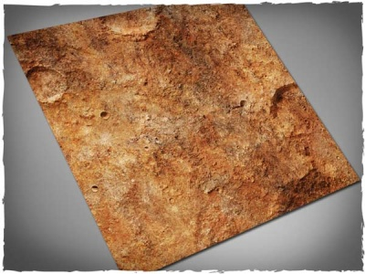 Game Mat - Red Planet 3x3